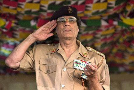 Libijski przywódca, Muammar Kadafi (Zdjęcie: meritum.us)