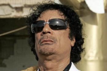 Libijski przywódca Muammar Kaddafi (Zdjęcie: thewashingtonnote.com)