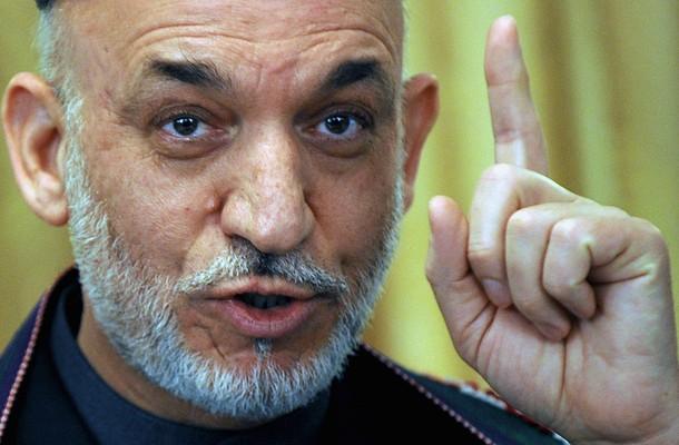 Hamidowi Karzajowi udało się uzyskać reelekcję na urząd prezydenta Afganistanu (Zdjęcie: Daylife.com: Shah Marai/AFP/Getty Images)