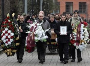 Pogrzeb Siergieja Magnickiego. /Zdjęcie: REUTERS/Mikhail Voskresensky/