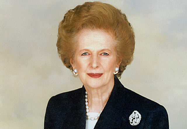 Margaret Thatcher (Wikimedia Commons)