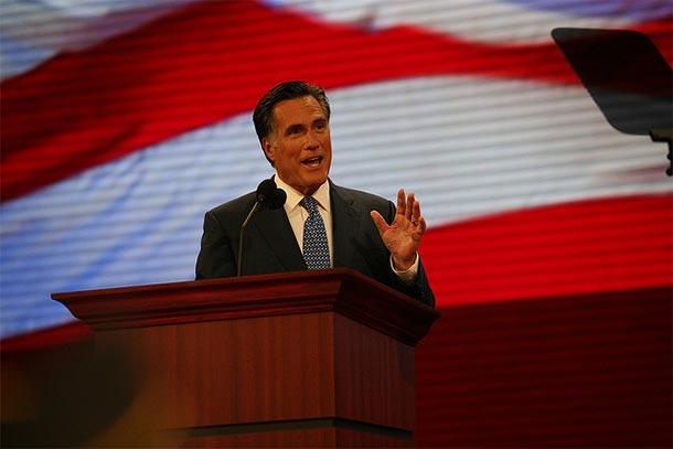 Mitt Romney (Zdjęcie: Flickr/NewsHour)