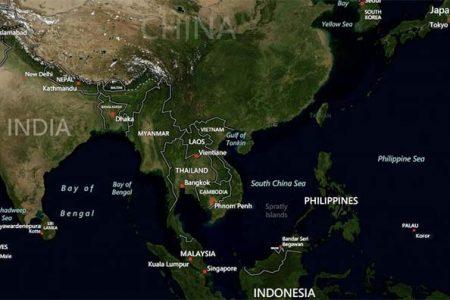 Morze Poludniowochinskie (Bing Maps)