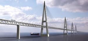 Tak ma wyglądać most Fehmarn