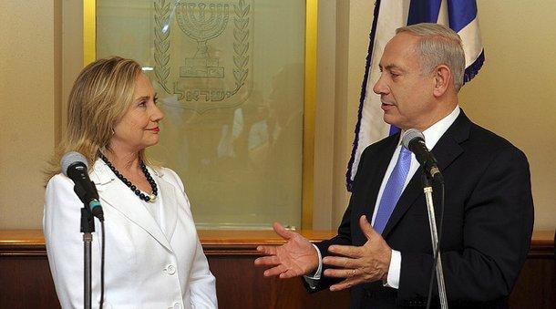 Hillary Clinton i Benjamin Netanjahu (Flickr: U.S. Embassy Tel Aviv)