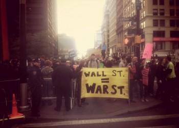 Protest Occupy Wall Street (Źródło: occupywallst.org)