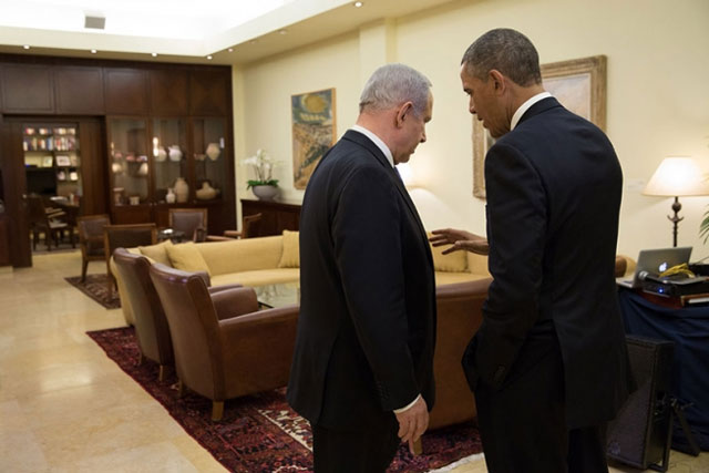 Benjamin Netanjahu i Barack Obama (Official White House Photo by Pete Souza)