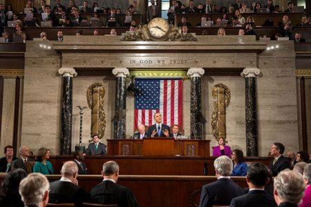 Barack Obama przedstawia orędzie o stanie państwa (fot. White House, Pete Souza)