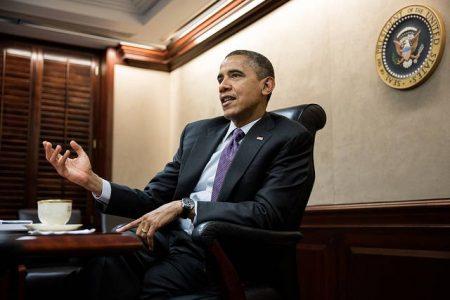 Barack Obama. Fot. Pete Souza (Flickr: The White House)