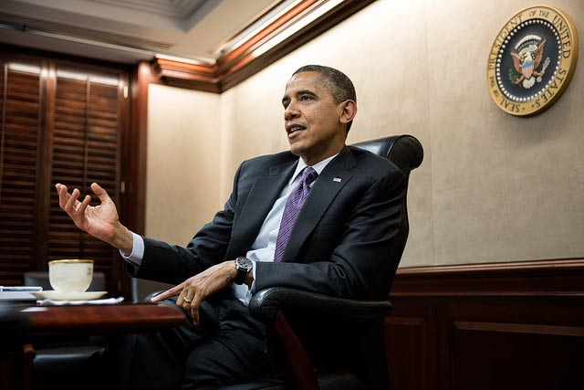 Barack Obama. Fot. Pete Souza (Flickr: The White House)