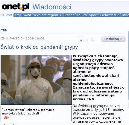 Artykuł ze strony Onet.pl (za: www.doorg.info)