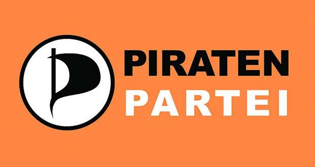 Logo niemieckiej Partii Piratów (Flickr: Piratenpartei Deutschland)