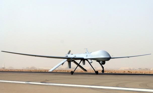 Bezzałogowce takie jak Predator są podstawą zaangażowania USA na Bliskim Wschodzie (Flickr/james_gordon_los_angeles)