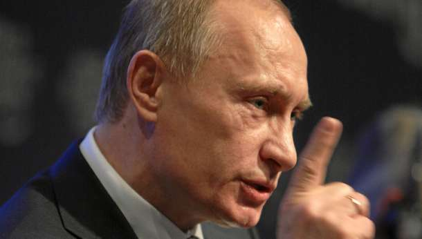 Putin na Światowym Forum Ekonomicznym w Davos (Źródło: Wikimedia)