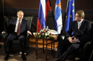 Władimir Putin i Matti Vanhanen (3 czerwca 2009)