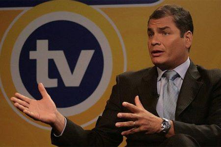 Prezydent Ekwadoru Rafael Correa (Flickr: Presidencia de la República del Ecuador)