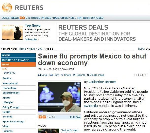 Dane ze strony Reutersa (za: www.doorg.info)