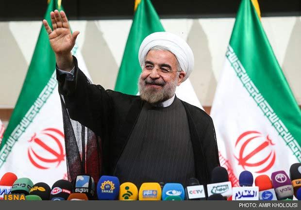 Hassan Rohani (fot. ISNA, Amir Kholousi)