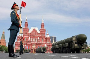 Rosyjska parada wojskowa w Moskwie (Time.com)