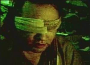 John Solecki - pracowanik ONZ przetrzymywany przez talibów (zdjęcie zrobione przez porywaczy telefonem komórkowym)