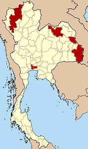 Prowincje ogarnięte zamieszkami. Opracowanie: politykaglobalna.pl. Mapa: wikipedia.