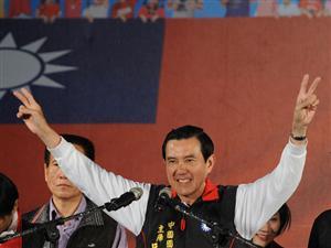 Prezydent Tajwanu Ma Ying-jeou (AFP/Sam YEH/Nationalpost.com)