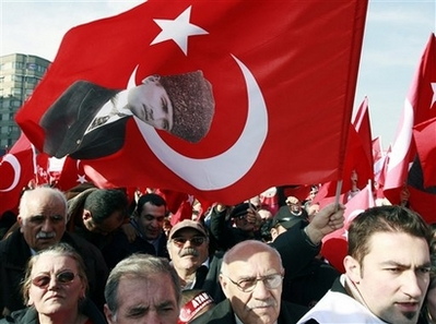 TURKEY HEAD SCARF