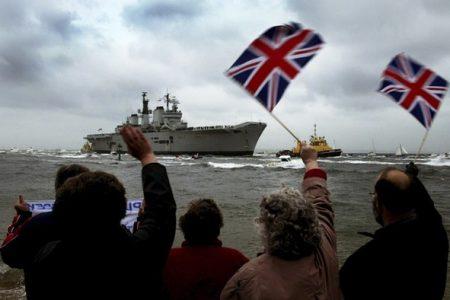Czy Wielka Brytania na zawsze pożegna się ze swoją morską potęgą? (Zdjęcie: Reuters-Michael Crabtree)