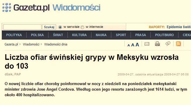 Artykuł ze strony Gazeta.pl (za: www.doorg.info)